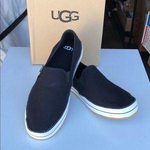 ❤️New Ugg Bren Black Mesh upper sneakers sz 12
